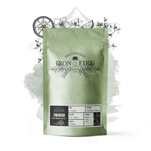 Rwandan Huye Mountain micro lot single origin green beans