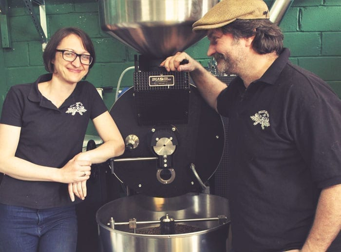 Kev and Joanna from Iron & Fire