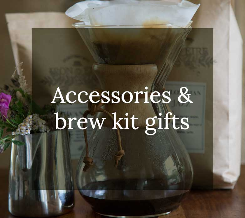 Accessories & brew kit gifts