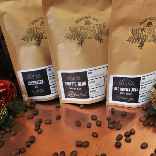 christmas selection box - limited edition coffee christmas blend - coffee lovers gift of 3 coffees - strong coffee