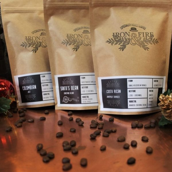 christmas selection box - limited edition coffee christmas blend - coffee lovers gift of 3 coffees