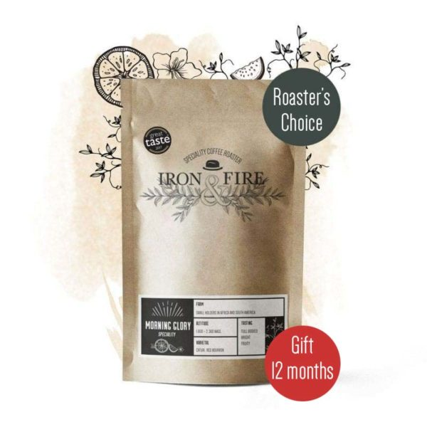 roasters choice coffee subscription gift 12 months